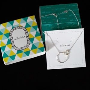 STELLA & DOT Eternity necklace.
